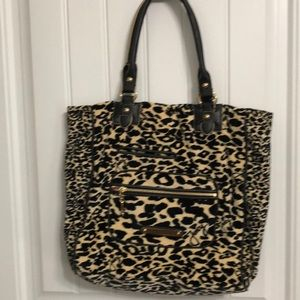 Large Juicy Couture Tote Free Keychain